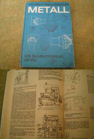 friedrich tabellenbuch metall ddr fachbuch schmieden l ten stahl gusseisen ebay. Black Bedroom Furniture Sets. Home Design Ideas